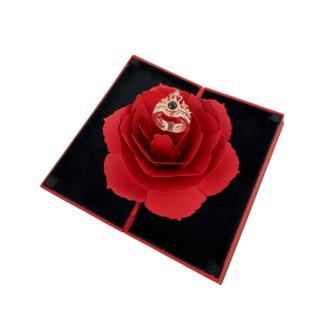 100% szerelem gyűrű rózsabox