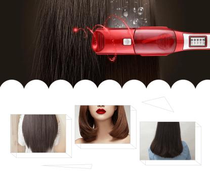 Premium Steam Straightener – Gőzölős hajvasaló